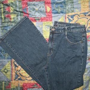 Cato Women's Jeans Size 16 Bootcut Leg Mid Rise